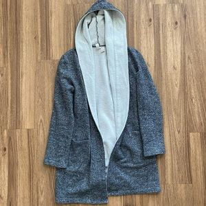 Forever 21 Long gray cardigan/sweater